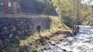 També fem plantació per restauració de lleres de rius. Ens referim a les estabilització amb tècniques de material viu o enginyeria naturalística