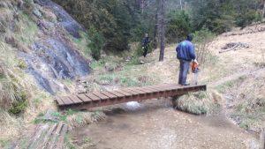Algunes de les neteges de boscos i neteja de lleres de rius al Principat d'Andorra.